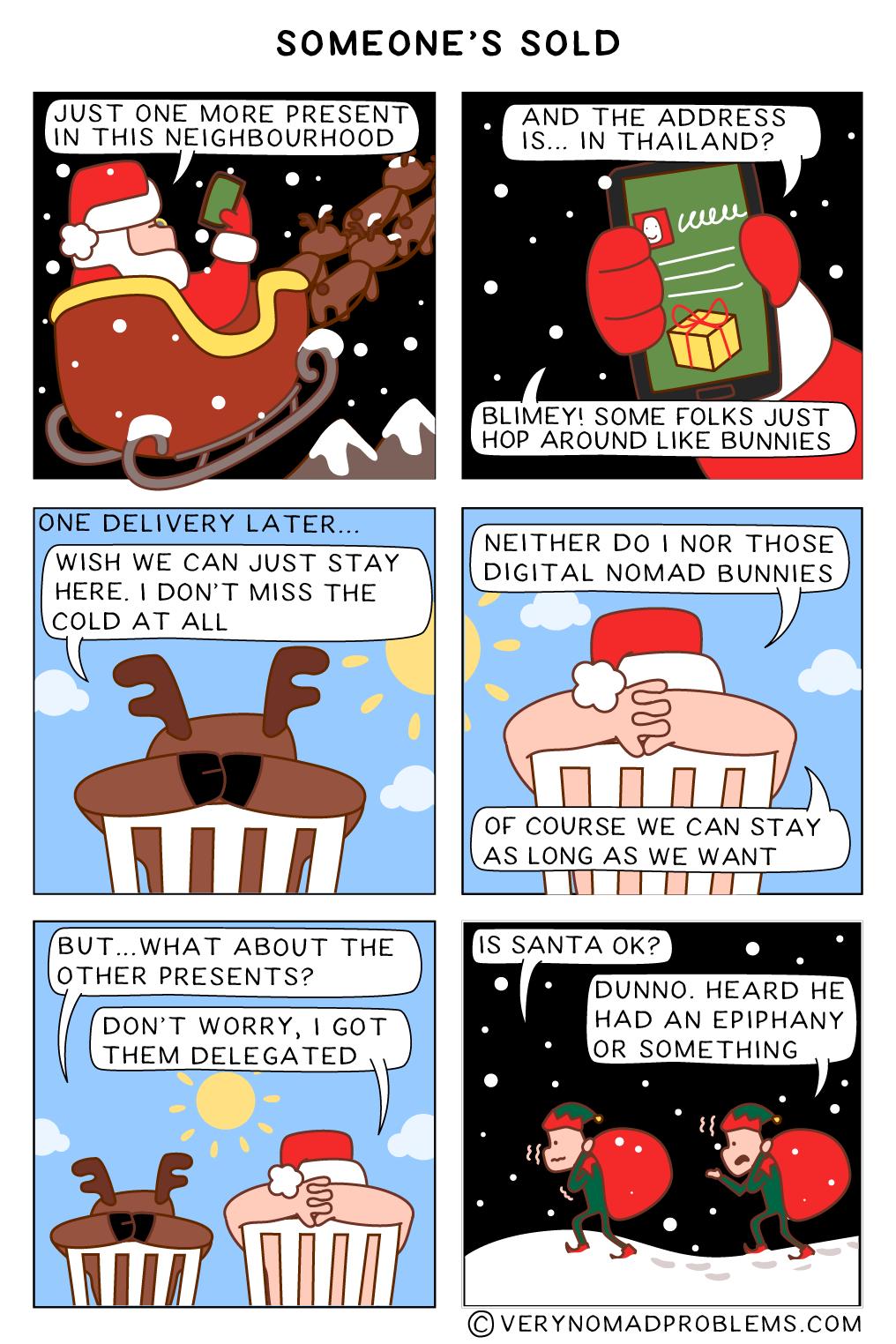 Santa Is Sold