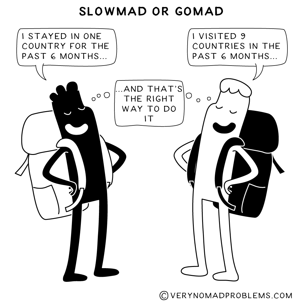 Slowmad or Gomad