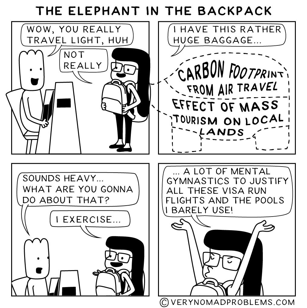 TheElephantInTheBackpack